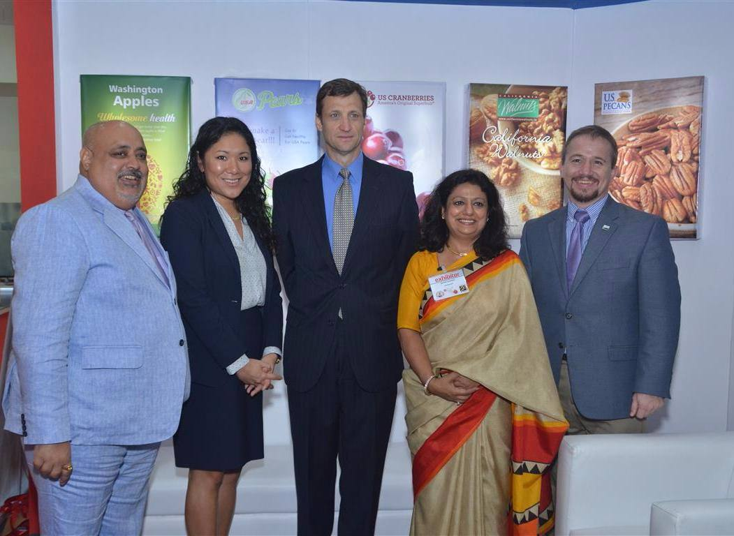 US Cranberries on Display with US Premium Agricultural Products at seventh edition of India's Restaurant & Catering Show