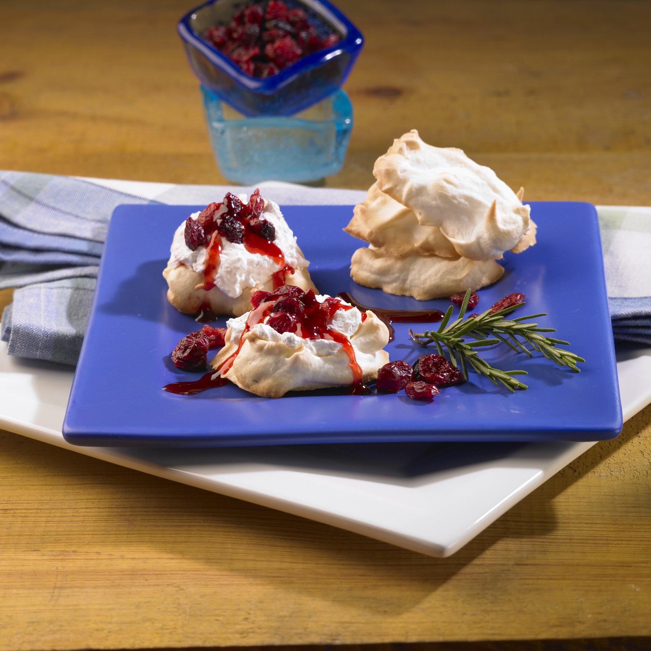Cranberry Cream and Lemon Meringue