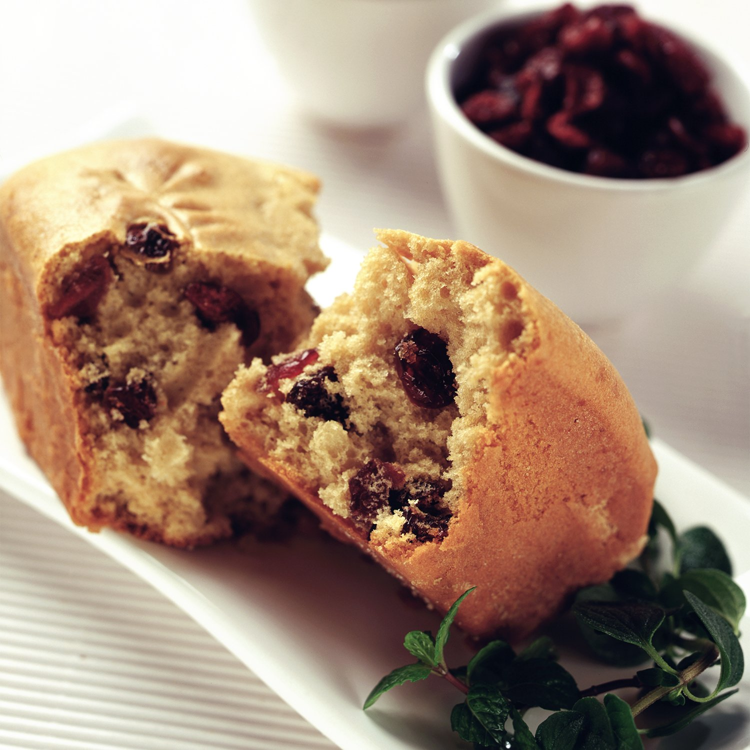Cranberry and Almond Rolls