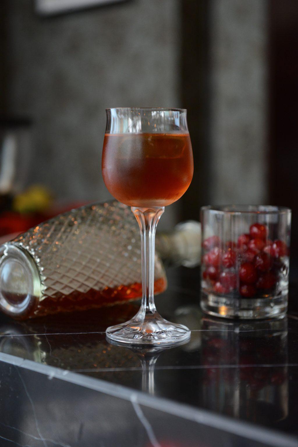 Cranberry Burning Vineyard