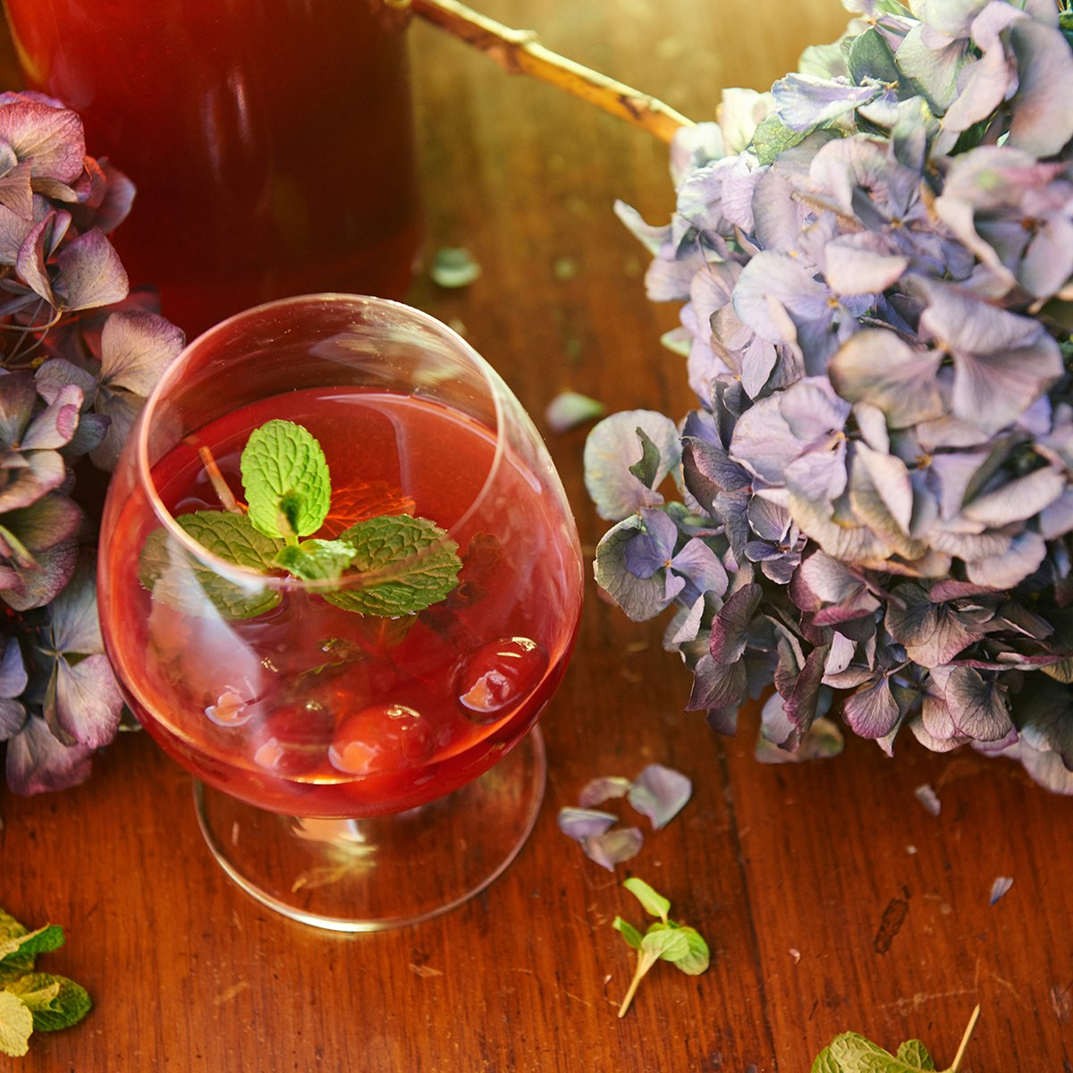 Cranberry Toddy
