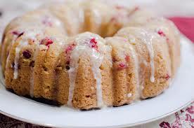 Cranberry Apricot Walnut Bundt Cake