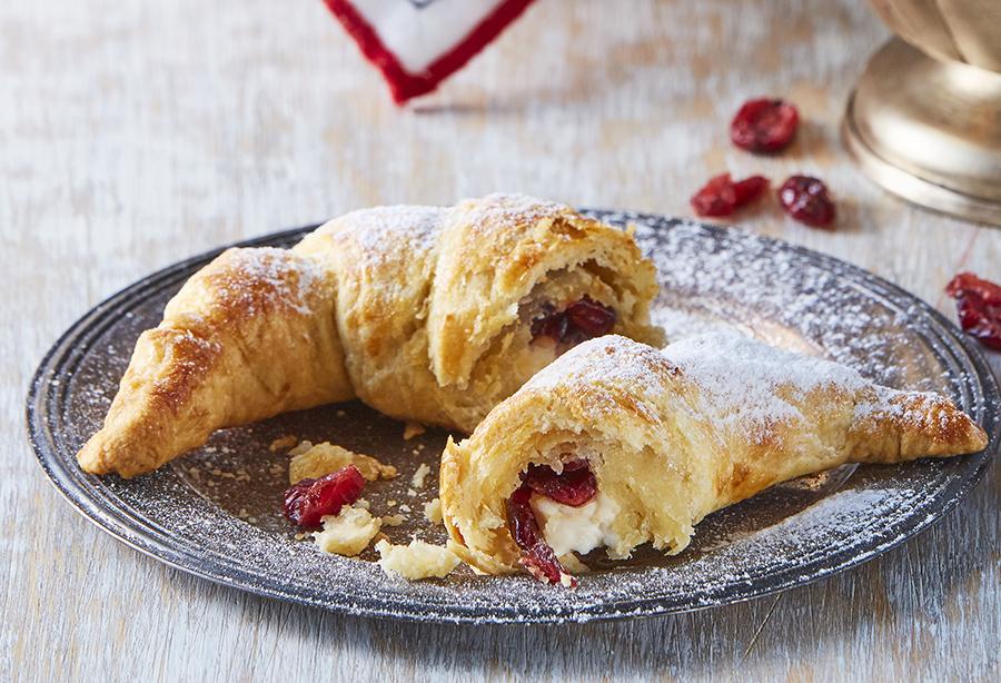 Cranberry Croissants